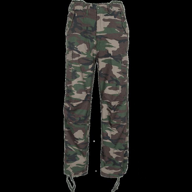 Brandit Kalhoty M65 Vintage Trouser woodland XL