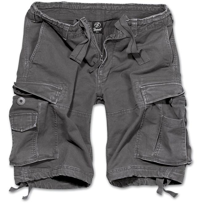 Brandit Kalhoty krátké Vintage Classic Shorts antracitové 7XL