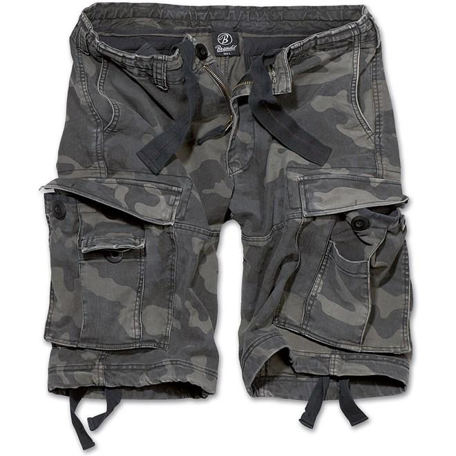 Brandit Kalhoty krátké Vintage Classic Shorts darkcamo 7XL
