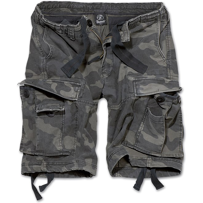 Brandit Kalhoty krátké Vintage Classic Shorts darkcamo 3XL