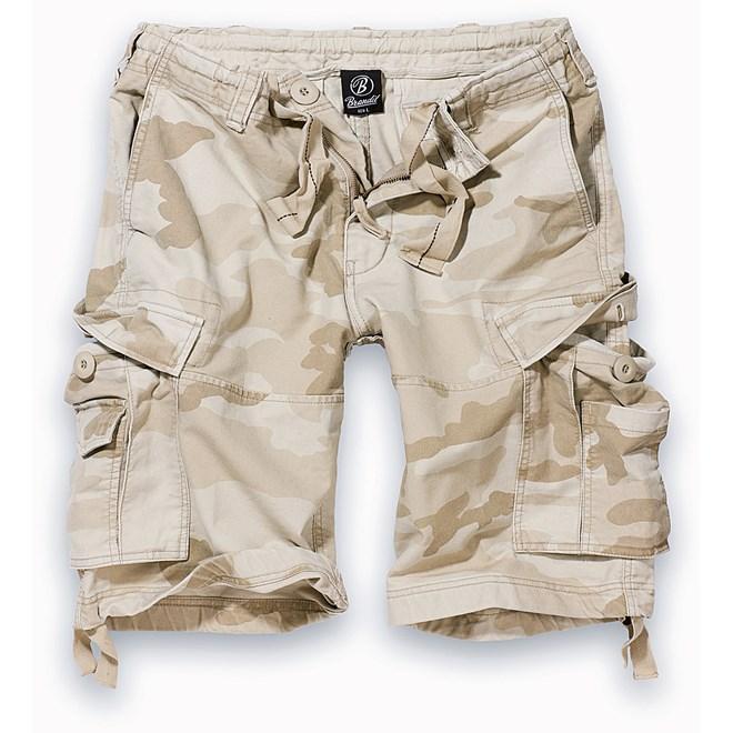 Brandit Kalhoty krátké Vintage Classic Shorts sandstorm 4XL