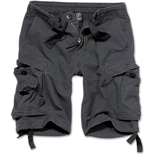 Brandit Kalhoty krátké Vintage Classic Shorts černé 5XL