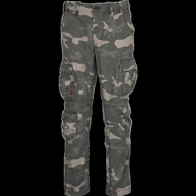 Surplus Kalhoty Airborne Slimmy blackcamo M