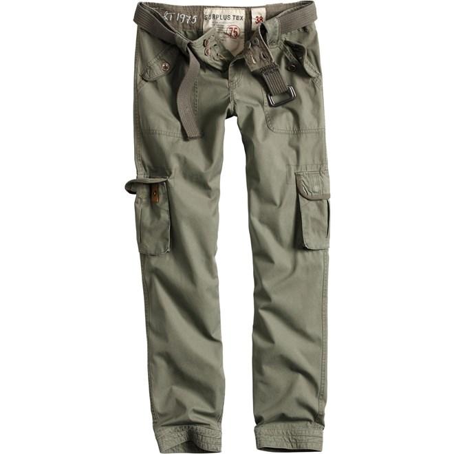 Surplus Kalhoty Ladies Premium Trousers Slimmy olivové 36