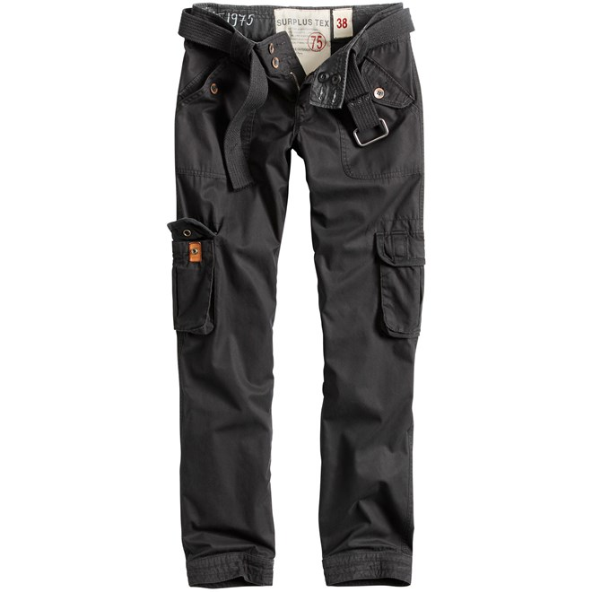 Surplus Kalhoty Ladies Premium Trousers Slimmy černé 38