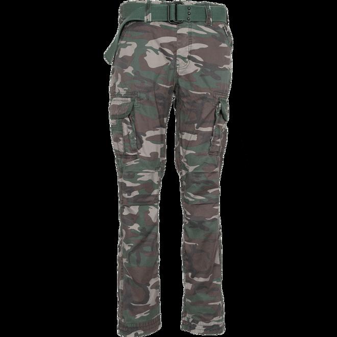 Surplus Kalhoty Premium Slimmy woodland oprané S