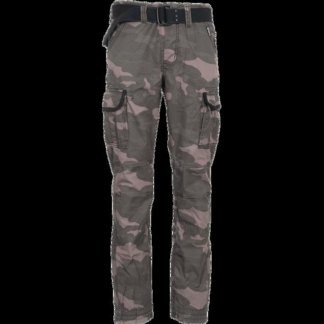 Surplus Kalhoty Premium Slimmy blackcamo L