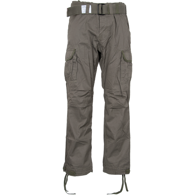 Surplus Kalhoty Premium Vintage olivové 3XL