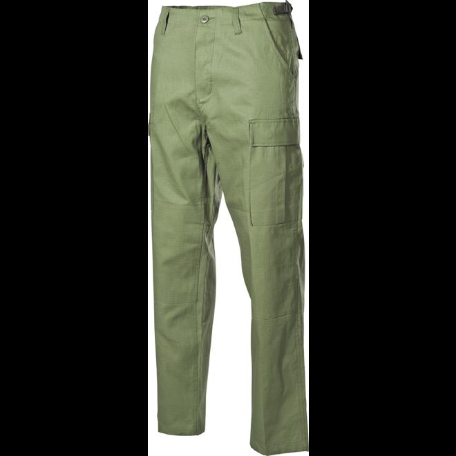 Kalhoty BDU-RipStop zelené L