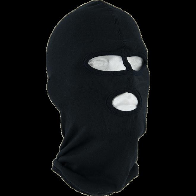 Kukla policejní P6 oči/dělicí pásek/ústa/síťka černá