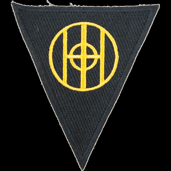 Nášivka: Divize pěší 83. (trojúhelník)
