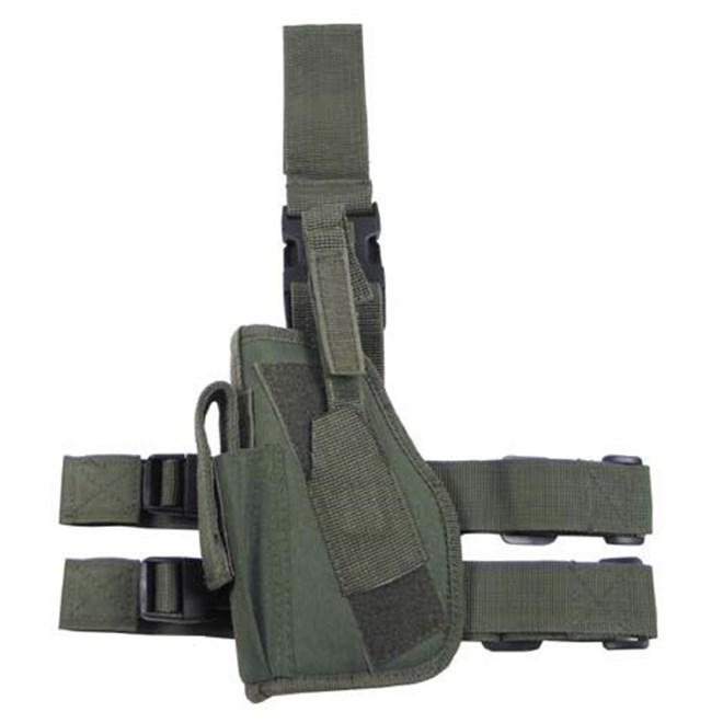 Levně Pouzdro na zbraň - stehenní Import 1 LEVÉ olivové