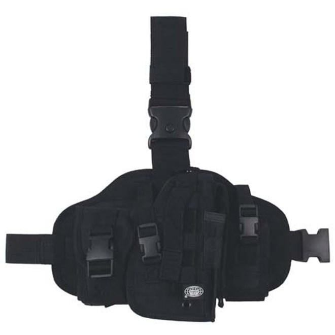 Pouzdro na zbraň - stehenní Import 3 černé