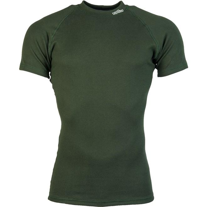 Prádlo Termo Duo - triko krátký rukáv zelené XXL