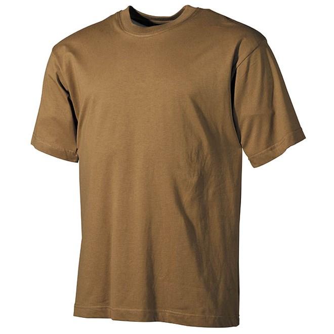 Levně Tričko US T-Shirt okrové S
