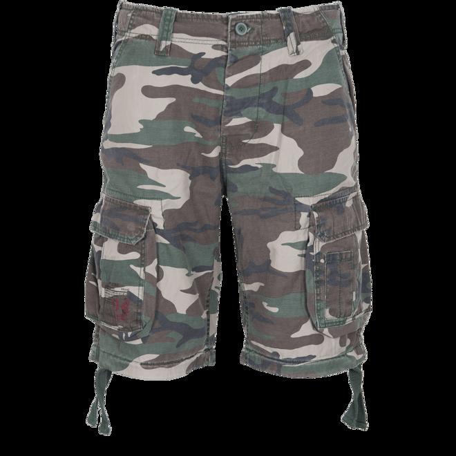 Levně Surplus Kalhoty krátké Airborne Vintage Shorts woodland 6XL