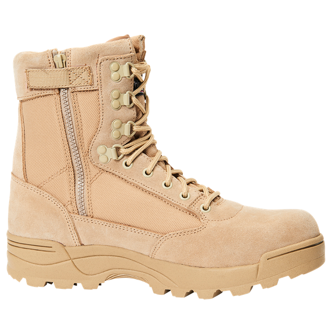 Brandit Boty Tactical Boot ZIPPER camel 39 [06]
