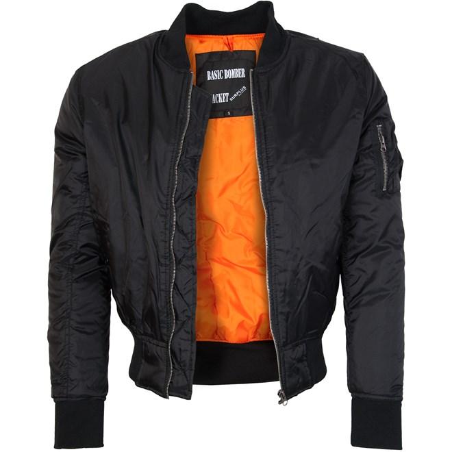 Bunda Basic Bomber Jacket černá XXL