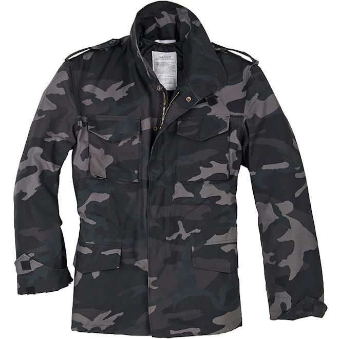 Levně Bunda M65 Feldjacket blackcamo S