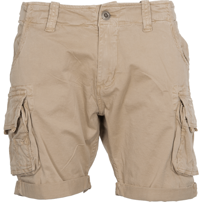 Alpha Industries Kalhoty krátké Crew Short pískové 32