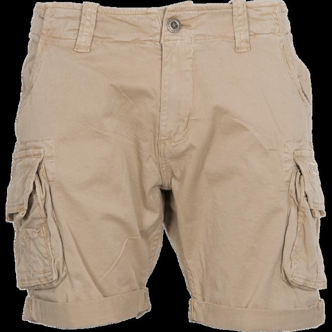 Alpha Industries Kalhoty krátké Crew Short pískové 34