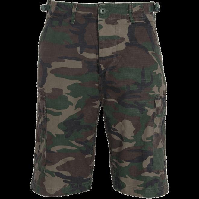 Levně Brandit Kalhoty krátké BDU Ripstop Shorts woodland 3XL