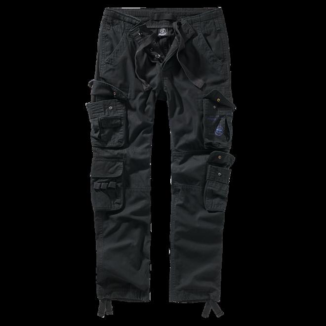 Brandit Kalhoty Pure Slim Fit Trouser černá XL