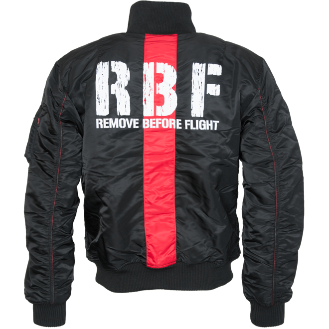Alpha Industries Bunda RBF Jacket černá M