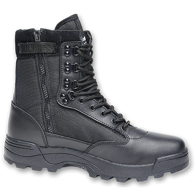 5b8a5c4932 Boty armádní taktické Tactical Boot ZIPPER černá Brandit
