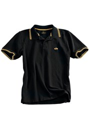 Tričko Alpha Twin Stripe Polo