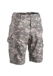Kalhoty krátké - Armádní kraťasy vojenské kapsáče maskáčové kraťase ... 1277b64af1