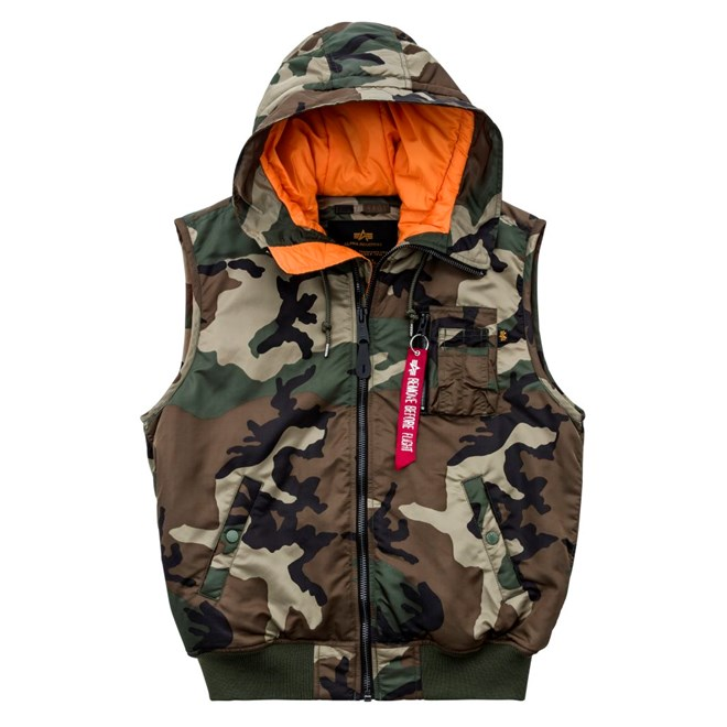 Vesta Alpha MA-1 Vest Hooded