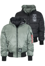 Bunda Alpha Hooded Puffer FD R